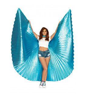 Parelmoer Vleugels Isis Blauw