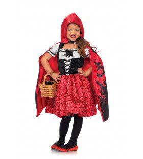 Ben Niet Bang Voor De Boze Wolf Roodkapje Meisje Kostuum
