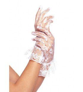Kanten Handschoenen Bruid