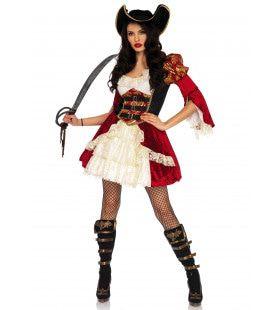 De Schrik Van Het Dek Piraat Vrouw Kostuum
