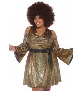 Chaka Koningin Van De Disco Dansvloer Vrouw Kostuum