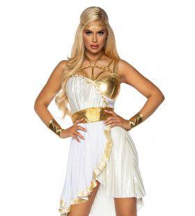 Hitsige Griekse Godin Van De Overwinning Nike Vrouw Kostuum