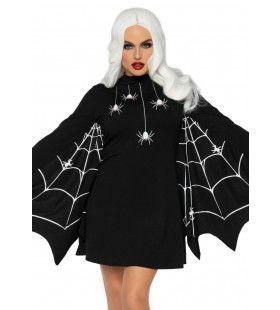 Moeder Van Spinnen Heks Vrouw Kostuum