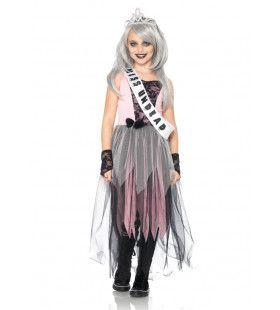 Zombie Prom Queen Jurk Meisje