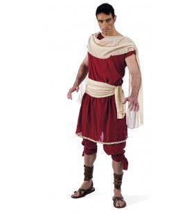 Ook Gij Brutus Romeinse Senator Man Kostuum