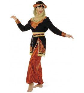 Charmante Oosterse Prinses Sultana Vrouw Kostuum