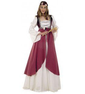 Jonkvrouwe Camilla Middeleeuws Kasteel Kostuum