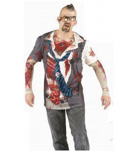 Onenigheid Op Kantoor Zombie T-Shirt      Man