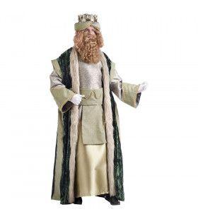 Koning Caspar Driekoningen Kerstmis Man Kostuum