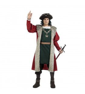 Abel Tasman Ontdekkingsreiziger Australie Kostuum