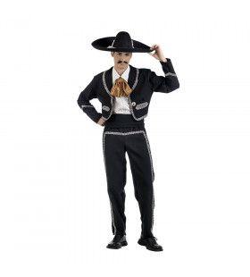 Mexicaanse Mariachi Chiapas Danser Man Kostuum