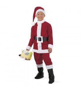 Kleine Kerstman Grote Cadeaus Jongen Kostuum