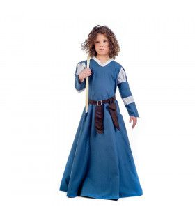 Middeleeuws Burchtmeisje Kasteel Sterkenburg Kostuum
