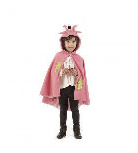 Roze Vreselijk Eenoog Monster Draak Meisje Kostuum