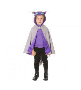 Cape Wijze Uil Vrolijke Oortjes Kind Kostuum