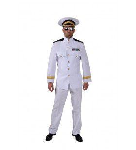 Admiraal Bananen Republiek Dictator Man Kostuum