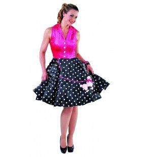 Rock n Roll Ppedel Vrouw Kostuum