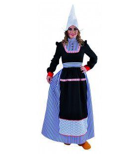 Volendamse Vissersvrouw Klederdracht Kostuum