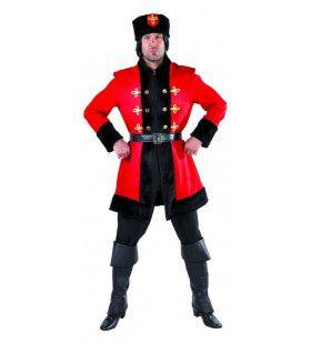 Steppe Rijder Kozak Rusland Man Kostuum