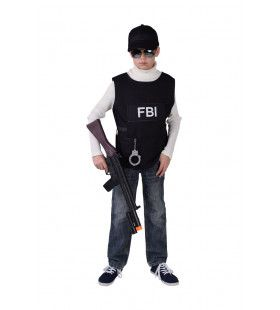 Fbi Arrestatieteam Kogelvrij Vest Jongen
