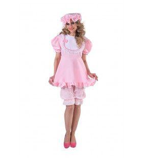 Roze Ik Word Nooit Volwassen Baby Vrouw Kostuum