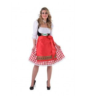 Maria Mout Oktoberfest Dirndl Vrouw Kostuum