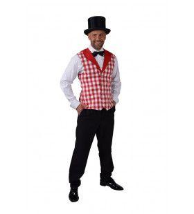 Vrolijk Vest Carnaval Brabants Bont Man
