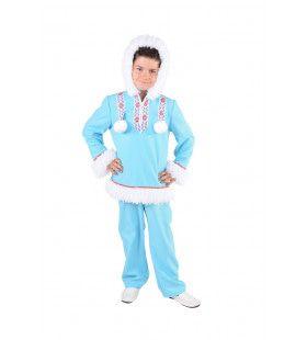 Lekker Warm Eskimo Sneeuwballen Kostuum