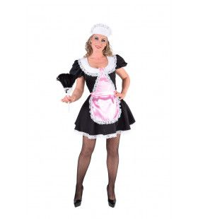 Traditionele Serveerster Theehuis Vrouw Kostuum