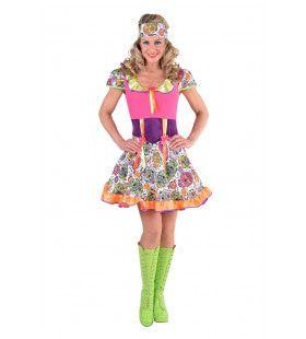 Vrolijk Mexicaans Dia De Los Muertos Vrouw Kostuum