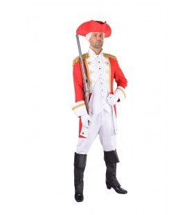 Garde Officier Koninklijk Paleis Rood Man Kostuum