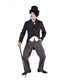 Film Komiek Stomme Film Charlie Man Kostuum