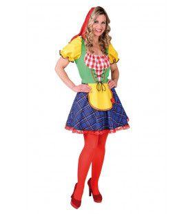 He Ho He Ho Sprookjes Kabouter Vrouw Kostuum