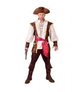 Altijd Paraat Piraat Caribische Zee Man Kostuum