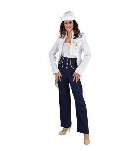 Matroos Luxe Jacht Middellandse Zee Vrouw Kostuum