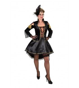 Moulin Rouge Steampunk Showgirl Vrouw Kostuum