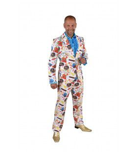 Slecht Gebit Blije Tandarts Snoep Man Kostuum