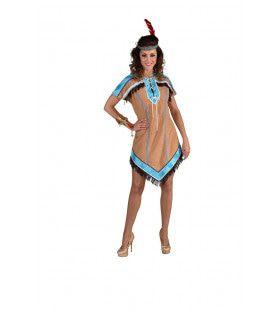Apache Indiaan New Mexico Vrouw Kostuum