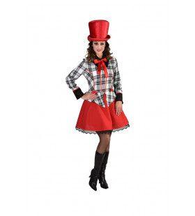 Groot Russisch Staatscircus Clown Vrouw Kostuum