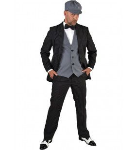 Jaren 20 Peaky Gangster Set Vierdelig Man
