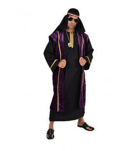 Arabische Ali Baba Sprookjes Sjeik Man Kostuum
