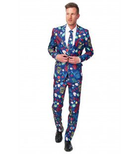 Mr Wheelerdealer Casino Slot Machine Suitmeister Kostuum Man