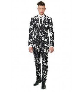 Halloween Black Icons Man Kostuum