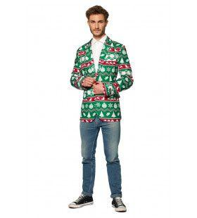 Christmas Green Nordic Colbert Man
