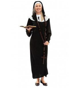 Heilige Katholieke Klooster Non Teodora Vrouw Kostuum