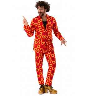 Jaren 70 Hippie Disco 60s Sam Show Man Kostuum