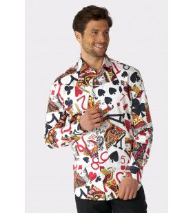 Play Me King Of Clubs Blouse Man