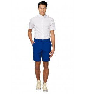 Universeel Wit Overhemd Korte Mouwen Man