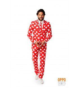 Mr. Lover Lover Valentijn Opposuit Kostuum Man