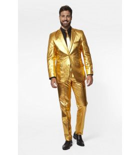 Disco Fout In Goud Man Kostuum